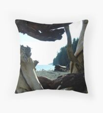I Came From Out There Throw Pillow