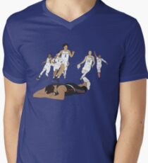 Michigan Game Winner Celebration V-Neck T-Shirt