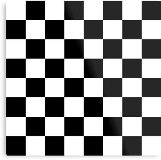 checkered flag racing chess chessboard checkers checkerboard metal