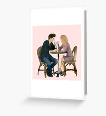 Cafe Lover Greeting Card