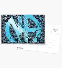 Postales Narcóticos Anónimos ~ Enredado en azul