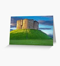 Clifford's Tower, York, England Greeting Card