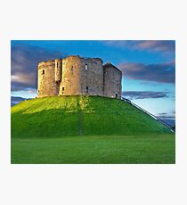 Clifford's Tower, York, England Photographic Print