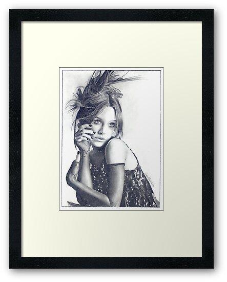 Keira Knightley by Candace Wiebe-Nesbit