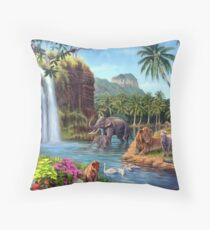A Paradise Setting Floor Pillow