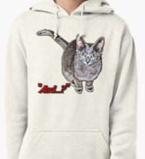 """""""And...?"""" Pullover Hoodie"""