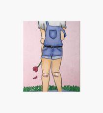 Pastel Girl Art Board