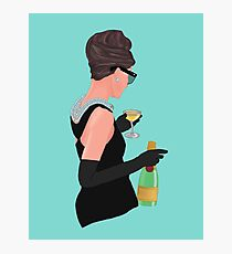 Holly Golightly - Champagne At Tiffany's  Photographic Print