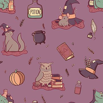 Witches Familiars by adelaydeart