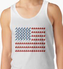 Birdorable U.S. Flag of Birds Tank Top