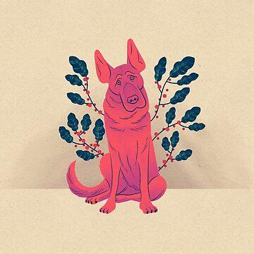 Vine Dog by JTWilcox