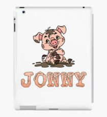 Jonny Piggy iPad Case/Skin