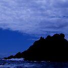 Turbulent colbalt seas  by KimOZ