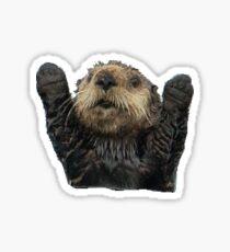 happy otter Sticker