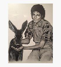 Michael Jackson - N Philbin Photographic Print