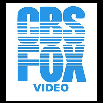 CBS FOX VIDEO VHS logo by LaTerruer
