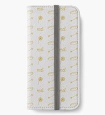 Everlark pattern iPhone Wallet/Case/Skin