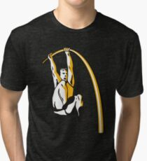 Pole Vaulting Tri-blend T-Shirt