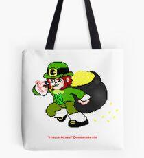 Pixel Leprechaun Tote Bag