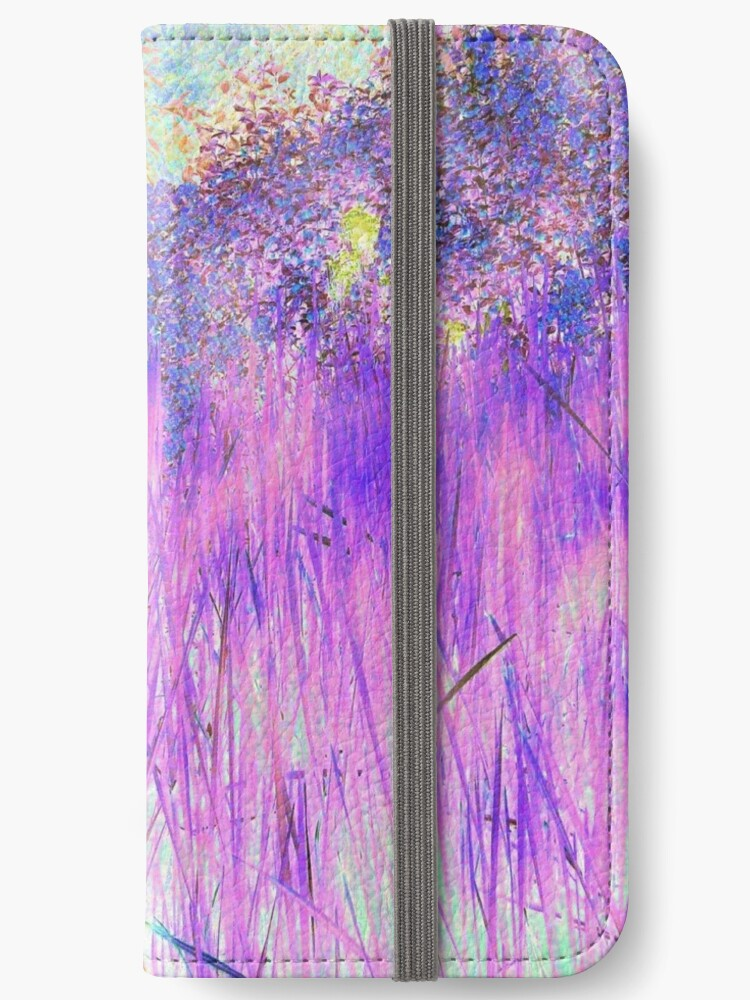 Purple Reeds 4-Available As Art Prints-Mugs,Cases,Duvets,T Shirts,Stickers,etc by Robert Burns