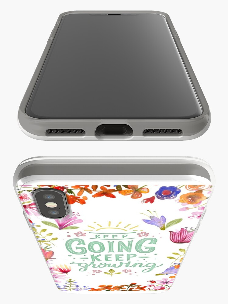 Alternative Ansicht von Keep Going Keep Growing iPhone-Hüllen & Cover