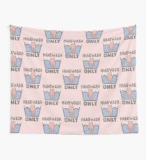 Handwash Only (pink) Wall Tapestry