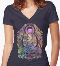 Cosmic Bodhi Women's Fitted V-Neck T-Shirt