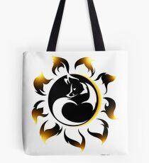 Fox Eclipse Tote Bag