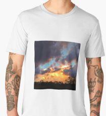Fiery Sunset Men's Premium T-Shirt