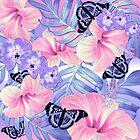 Lavender Spring Tropical by Nina May