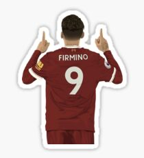 Bobby Firmino 9 Sticker