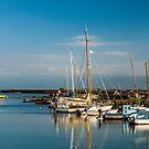 Boats (Île de Noirmoutiers - Vendée, France) by Mathieu Longvert