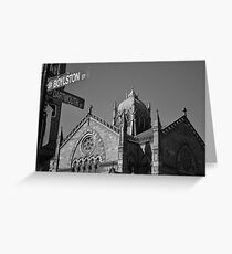 Old South Church Greeting Card