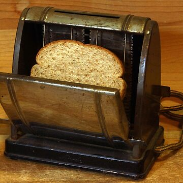 Putting My Antique Toaster to Work by NinoRobert