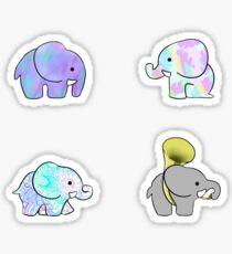 Adorable Elephant Madness Pack Sticker