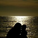 Silho Sunset by mrdiyones