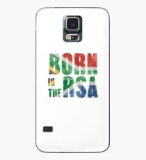 Born in the RSA - funny artwork for South African expats Case/Skin for Samsung Galaxy