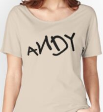 Andy - Toy Story Women's Relaxed Fit T-Shirt