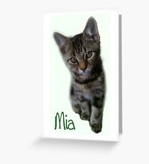 Mia Greeting Card