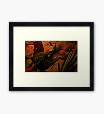 ARGONIAN  TANKANA   ( AMPHIBIAN ) Framed Print