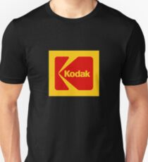 Kodak-Logo-Waren Slim Fit T-Shirt