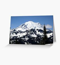 Chinook Pass Greeting Card