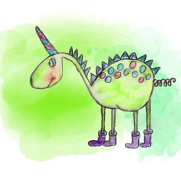Dino Unicorn by Marili-Design