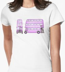 Big Purple Bus Women's Fitted T-Shirt