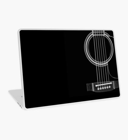 black acoustic Laptop Skin