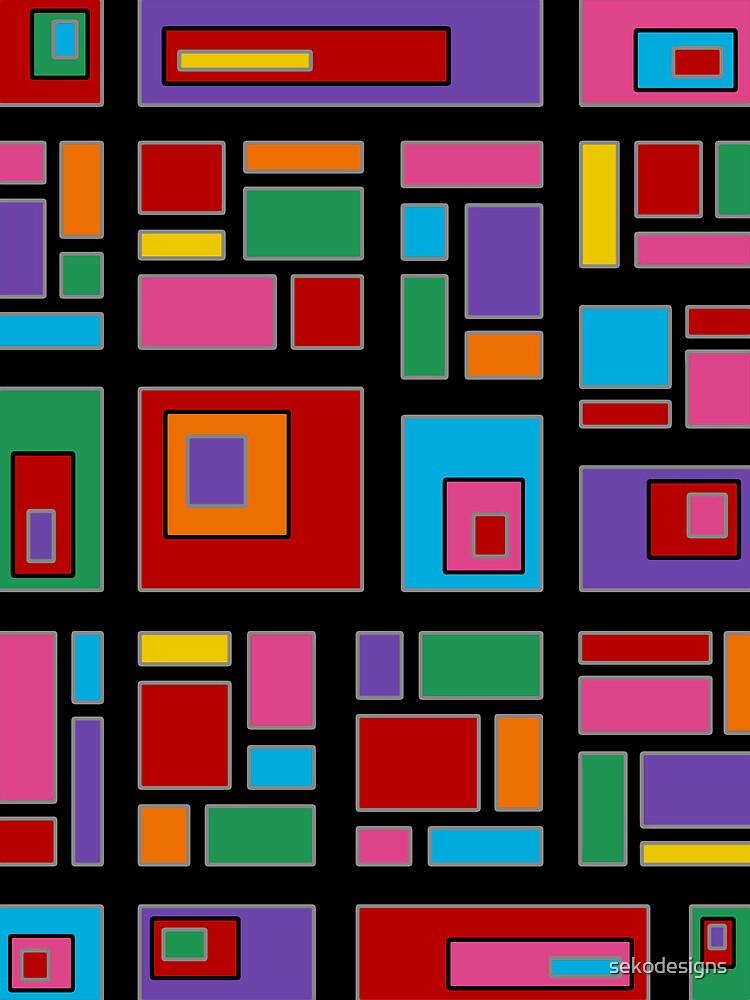 Retro Art - Vivid Colour #14 by sekodesigns