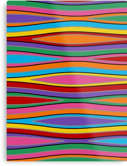 Retro Art - Vivid Colour #15 by sekodesigns