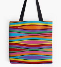 Retro Art - Vivid Colour #15 Tote Bag