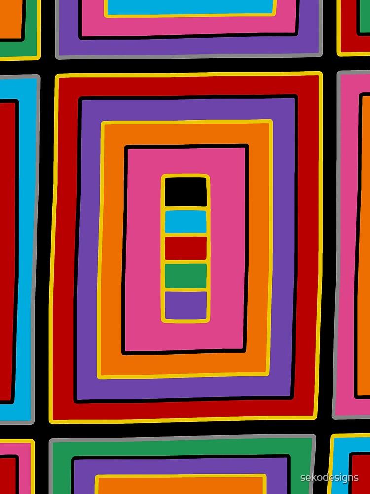 Retro Art - Vivid Colour #20 by sekodesigns
