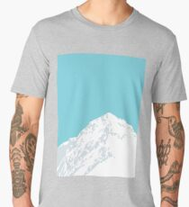 Snowy Mountain Peak Men's Premium T-Shirt